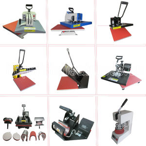 Hot Sales Swing Away T-Shirt Heat Transfer Machine 40*60cm American High Pressure Shaking Head Heat Press Machine T Shirt Transfer Printing Machine Stc-SD03 pictures & photos