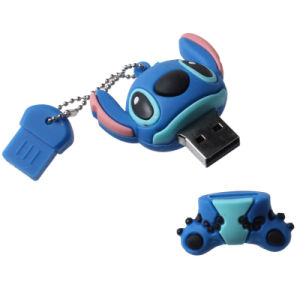 Customized Cute PVC/Rubber USB Flash Drive pictures & photos
