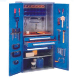 Storage Cabinet for Work Room