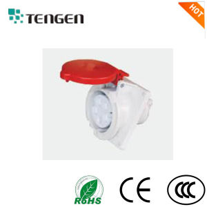 Industrial Socket 3p 125A IP 67 Flush Mounted pictures & photos