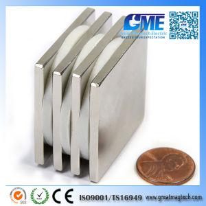 GME F38.1X38.1X3.175mm Neodymium N48 Block Magnet pictures & photos