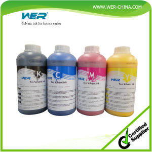 Wer-China Brand Eco Solvent Ink pictures & photos