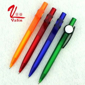 Unique Style Plastic Clik Pen Christmas Gift Plastic Pen on Sell pictures & photos
