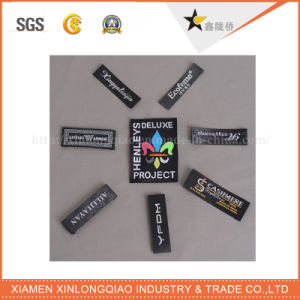 Washable Woven Cloth Logo Sewn-in Clothing Size Printing Garment Label pictures & photos