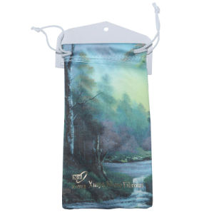 Customized Small Microfiber Drawstring Pouches pictures & photos