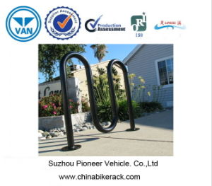 Power Coated Wave Style Bike Rack pictures & photos