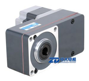 BLDC motor with L type gearbox 200~1500rpm, 2000rpm, 2500rpm pictures & photos
