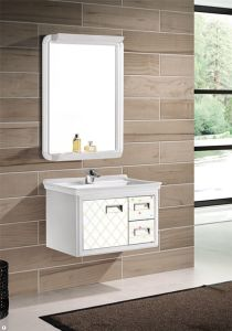 Aluminum Bathroom Vanity with Ceramic Basin (T-9714) pictures & photos