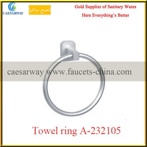 Sanitary Ware Bathroom Brass Fittings Brass Single Towel Ring pictures & photos