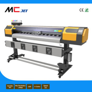 1.6m Eco Solvent Printer with Two Epson Dx5 for Outdoor pictures & photos