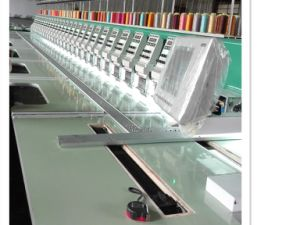 High Precision Embroidery Machine with Touch Screen Computer for Cloth pictures & photos