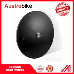 Matt Carbon Disc Wheel Carbon Clincher Disc Wheel Road Disk Wheel Single Speed Disk Wheel Carbon Wheel