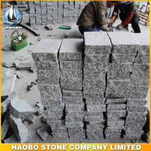 Flame&Tumble Cheap Grey Granite Cobble Stone pictures & photos
