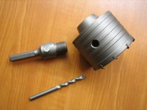 Hollow Electric Hamme Drill with Various Shank, Hole Saws pictures & photos