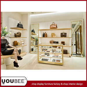 Wholesale Shop Display Furnitures for Handbag Shop Interior Decoration pictures & photos