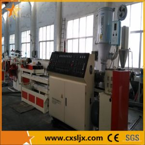 Plastic Single Wall Corrugated Pipe Extrusion Line pictures & photos