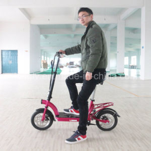 300W Big Power Brushless Motor Adult Foldable Electric Scooter pictures & photos