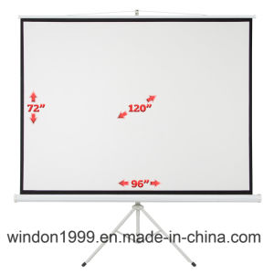 11 Years Agent Manufacturer Portable Proejction Screen pictures & photos