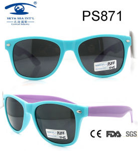 2015 Way Farer Style Kids Plastic Sunglasses pictures & photos