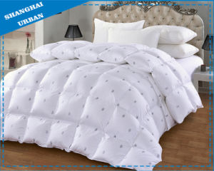 Duck Feather 100%Cotton Bedding Comforter pictures & photos