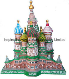 Russian Scene Resin Fridge Magnet for Gifts (PMG031) pictures & photos