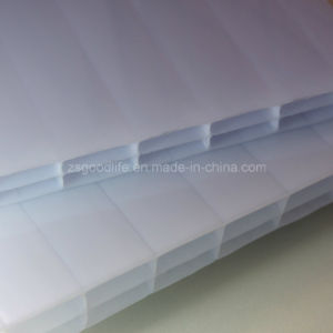 Opal White Polycarbonate Triple Wall Hollow Sheet pictures & photos