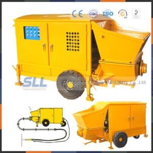 Supply High Efficiency Mobile Functional Concrete Mixer Pump pictures & photos