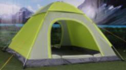 Traveling and Hiking 4 Person Lightweight Outdoor Family Camping Tent pictures & photos