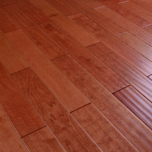 Foshan Factory Best Natural Hard Maple Parquet Wood Flooring pictures & photos
