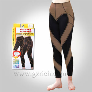 Japan Unisex Elastic Sports Slimming Pants pictures & photos