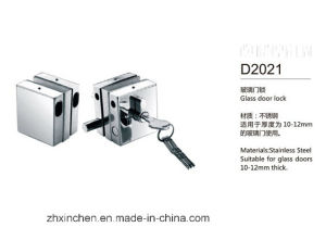 Xc-D2021 High Quality Stainless Steel Glass Door Lock pictures & photos