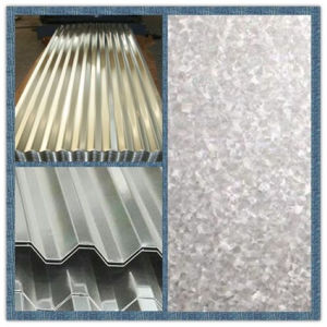 China Cheap Galvanized Corrugated Steel Plate for Building Material