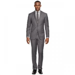 Made to Measure Merino Wool Fabric Slim Fit Formal Suit Casual Suit Jacket and Pants pictures & photos
