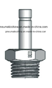 Chinese Good Quality Brass Nickle-Plated Pneumatic Fitting pictures & photos