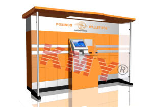 Outdoor Pracel Delivery Kiosk Manufacturer in China pictures & photos