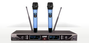 Wireless Microphone UHF for Conference System and Karaoke pictures & photos