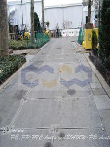 Anti Skidding UHMW-PE Engineering Paving Plate