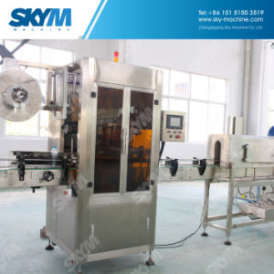 Automatic PVC Shrink Sleeve Bottle Labeling Machine pictures & photos