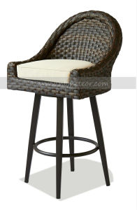 Mtc-360 Modern Design Outdoor Rattan Barstool Chair pictures & photos