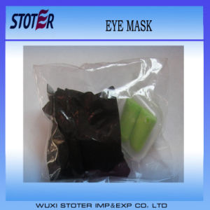 Factory Promotional Solid Pure Cotton Soft Luxury 3D Sleep Eye Mask pictures & photos