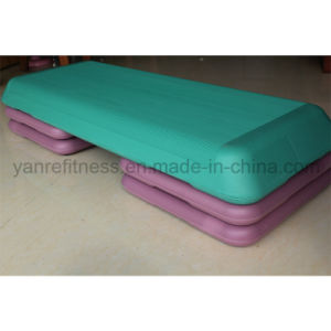 Gym Fitness Plastic Adjustable Aerobic Step/ Body Stepper Board pictures & photos