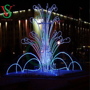 Fancy Dreamful Big Outdoor Motif Fourtains for Christmas Light Deco pictures & photos