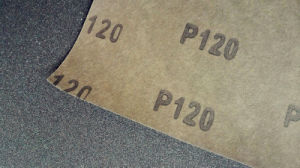Waterproof Silicon Carbide Latex Abrasive Paper /Sandpaper FM58 120# pictures & photos