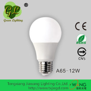 12W A65 E27 LED LED Light Bulb with CE RoHS