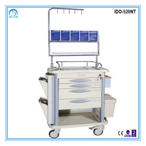 Ido-520nt High Quality ABS Medical Injection Trolley pictures & photos