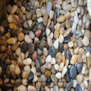 High Quality Mixed Crushed Pebbles Wholesale Pebble pictures & photos