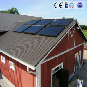 Solar Keymark Approved Heat Pipe Split Pressure Solar Heater System pictures & photos