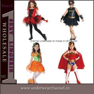 Halloween Carnival Dress Kids Costume Superhero Cosplay Children Costume (TEK091) pictures & photos