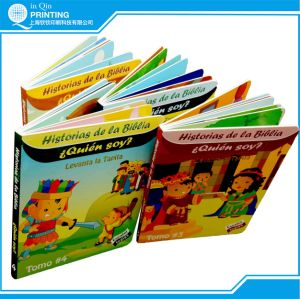 Print Color Cardboard and Popup Children Flip Book pictures & photos