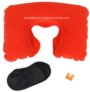 (free sample) Competitive Quality &Price U Shape Inflatable Neck Pillow Car Pillow pictures & photos